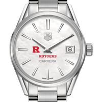 Rutgers University Women's TAG Heuer Steel Carrera with MOP Dial