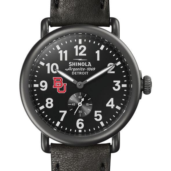 BU Shinola Watch, The Runwell 41mm Black Dial