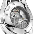 University of Miami Women's TAG Heuer Steel Carrera with MOP Dial & Diamond Bezel - Image 3