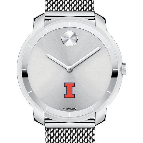 University of Illinois Women's Movado Stainless Bold 36