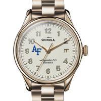 USAFA Shinola Watch, The Vinton 38mm Ivory Dial
