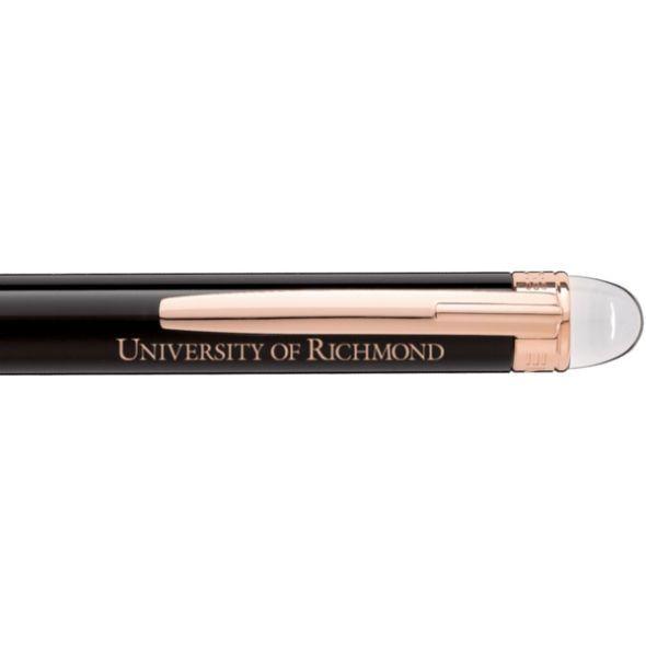University of Richmond Montblanc StarWalker Ballpoint Pen in Red Gold - Image 2