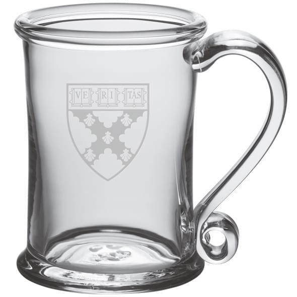 Harvard Business School Glass Tankard by Simon Pearce