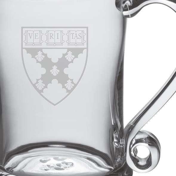 Harvard Business School Glass Tankard by Simon Pearce - Image 2