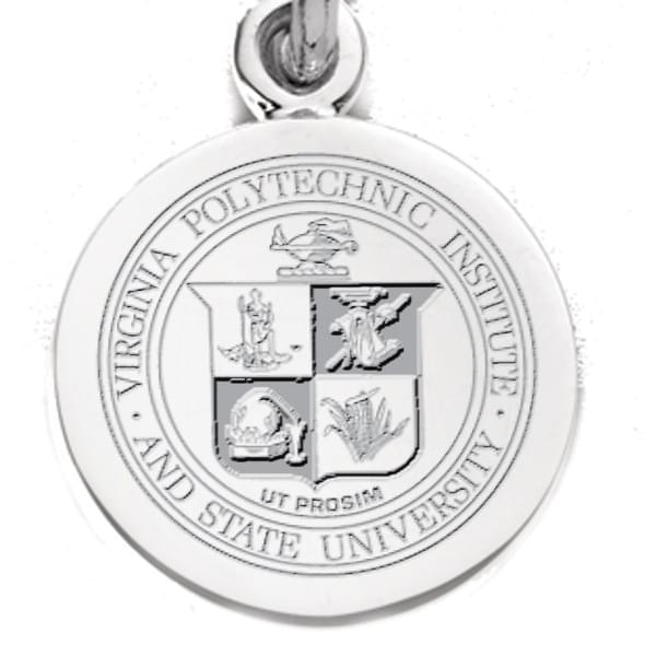 Virginia Tech Sterling Silver Charm - Image 2
