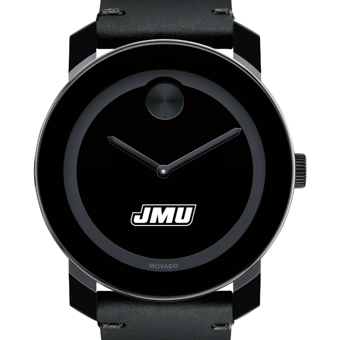 James Madison Men's Movado BOLD with Leather Strap
