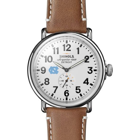 UNC Shinola Watch, The Runwell 47mm White Dial - Image 2