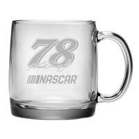 Martin Truex Jr. Glass Coffee Mug