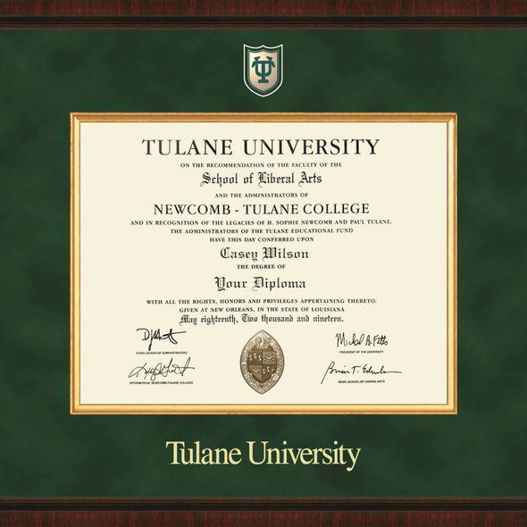 Tulane University Excelsior Frame - Image 2
