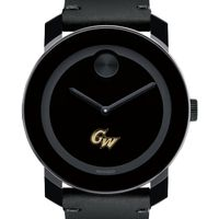 George Washington Men's Movado BOLD with Leather Strap