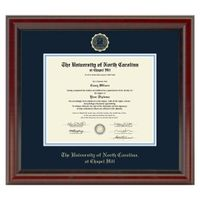 University of North Carolina Diploma Frame, the Fidelitas