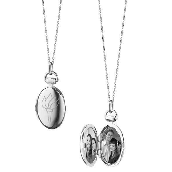 NYU Monica Rich Kosann Petite Locket in Silver