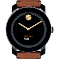 Berkeley Haas Men's Movado BOLD with Brown Leather Strap