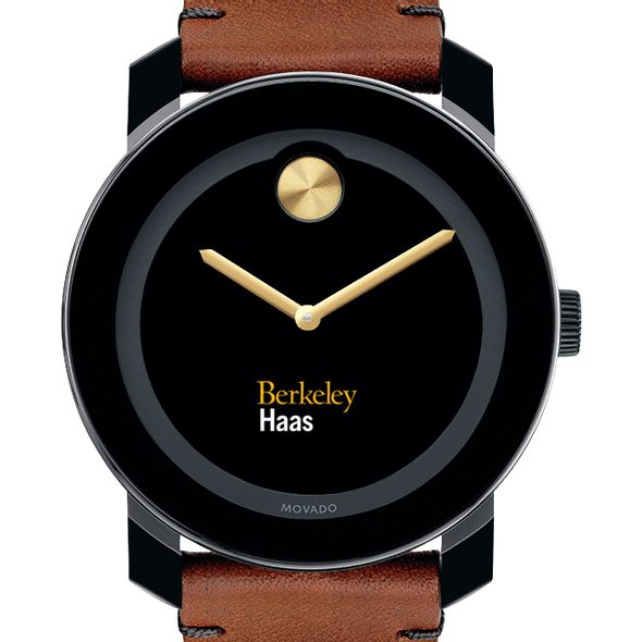 Berkeley Haas Men's Movado BOLD with Brown Leather Strap - Image 1