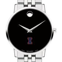 University of Illinois Men's Movado Museum with Bracelet