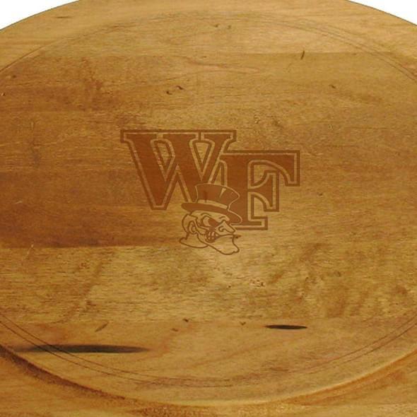 Wake Forest Round Bread Server - Image 2