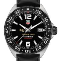 Georgia Tech Men's TAG Heuer Formula 1 with Black Dial