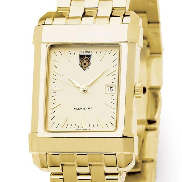 Lehigh Men's Gold Quad Watch with Bracelet