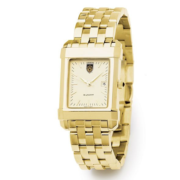 Lehigh Men's Gold Quad Watch with Bracelet - Image 2