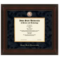 Iowa State Diploma Frame - Excelsior
