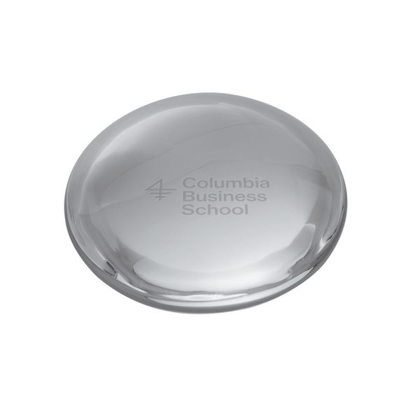 Columbia Business Glass Dome Paperweight by Simon Pearce - Image 1