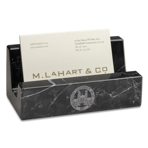 WashU Marble Business Card Holder