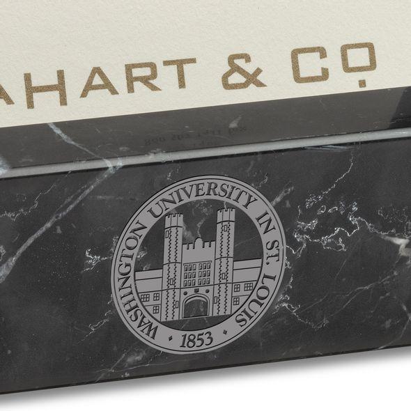 WashU Marble Business Card Holder - Image 2