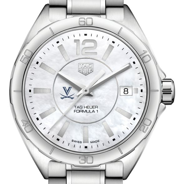 University of Virginia Women's TAG Heuer Formula 1 with MOP Dial