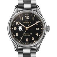 Rice Shinola Watch, The Vinton 38mm Black Dial