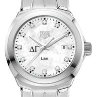 Delta Gamma TAG Heuer Diamond Dial LINK for Women