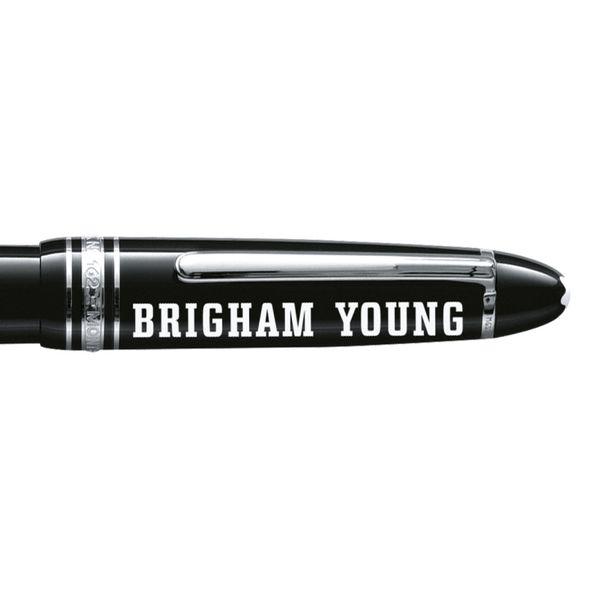 Brigham Young University Montblanc Meisterstück LeGrand Rollerball Pen in Platinum - Image 2