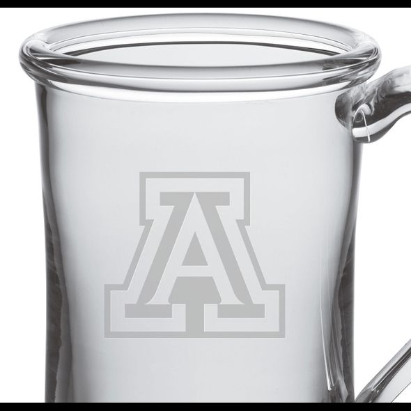 University of Arizona Glass Tankard by Simon Pearce - Image 2