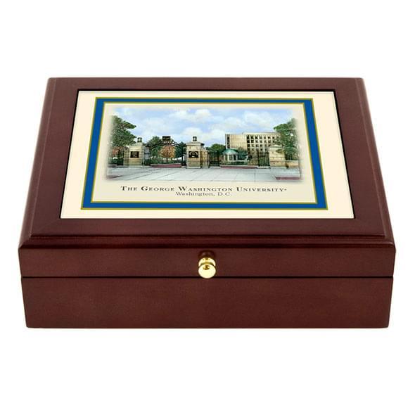 George Washington Eglomise Desk Box