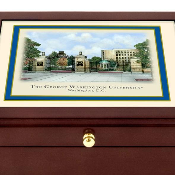 George Washington Eglomise Desk Box - Image 2