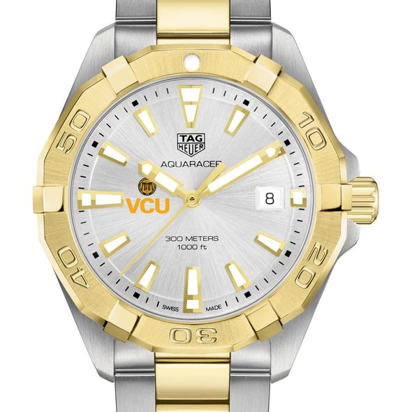 Virginia Commonwealth University Men's TAG Heuer Two-Tone Aquaracer