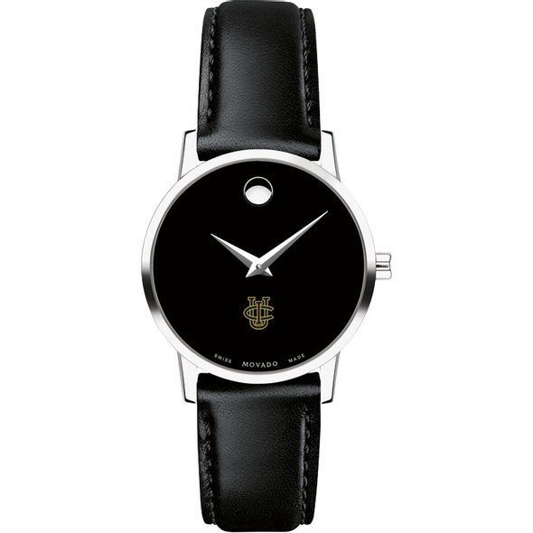 UC Irvine Women's Movado Museum with Leather Strap - Image 2