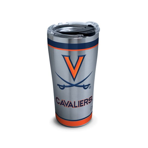 UVA 20 oz. Stainless Steel Tervis Tumblers with Hammer Lids - Set of 2