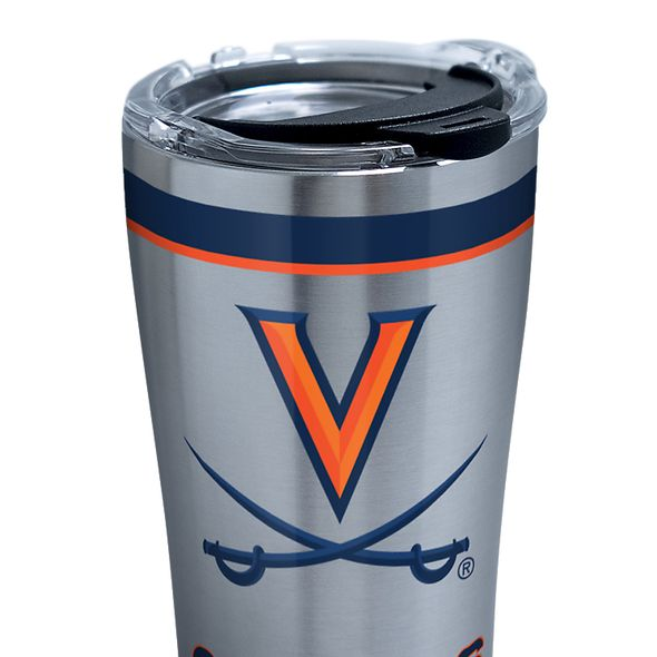 UVA 20 oz. Stainless Steel Tervis Tumblers with Hammer Lids - Set of 2 - Image 2