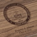 US Merchant Marine Academy Solid Walnut Desk Box - Image 3