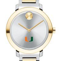University of Miami Women's Movado Two-Tone Bold 34