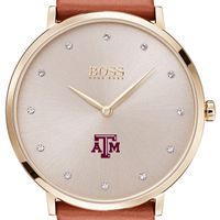 Texas A&M University Women's BOSS Champagne with Leather from M.LaHart