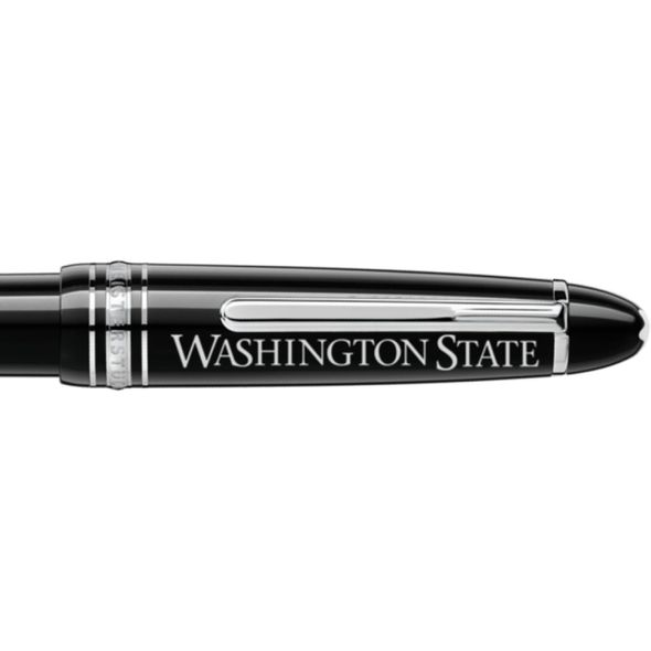 Washington State University Montblanc Meisterstück LeGrand Ballpoint Pen in Platinum - Image 2