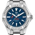 Florida Women's TAG Heuer 35mm Steel Aquaracer with Blue Dial - Image 1