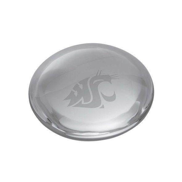 Washington State University Glass Dome Paperweight by Simon Pearce