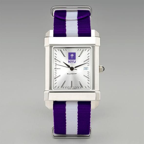 New York University Collegiate Watch with NATO Strap for Men - Image 2