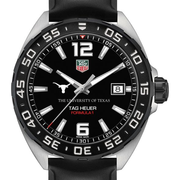 University of Texas Men's TAG Heuer Formula 1 with Black Dial