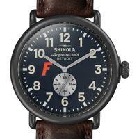 Florida Shinola Watch, The Runwell 47mm Midnight Blue Dial