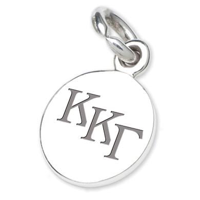 Kappa Kappa Gamma Sterling Silver Charm
