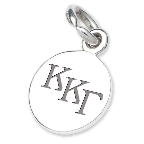 Kappa Kappa Gamma Sterling Silver Charm - Image 2