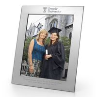 Temple Polished Pewter 8x10 Picture Frame